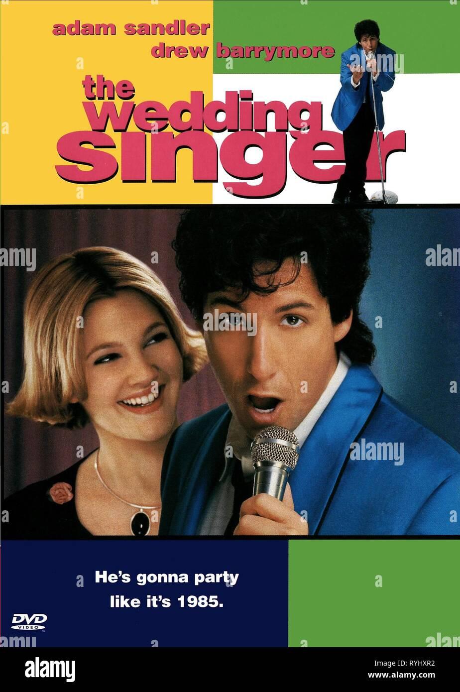 DREW BARRYMORE, ADAM SANDLER POSTER, THE WEDDING SINGER, 1998 ...