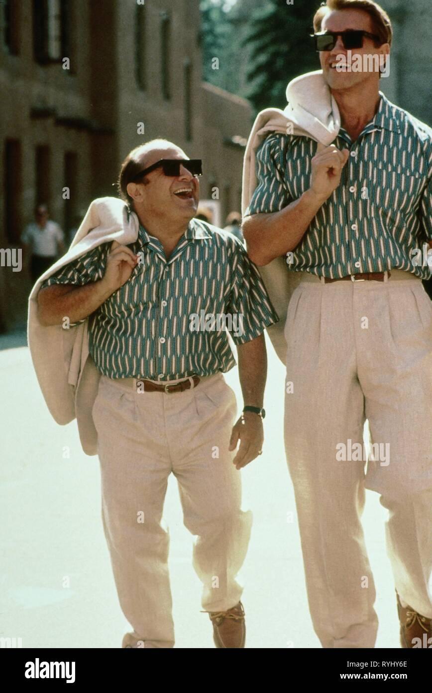 Danny Devito Arnold Schwarzenegger Twins 1988 Stock Photo Alamy