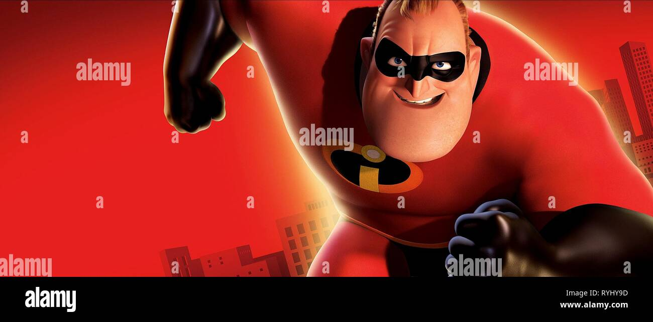 BOB PARR AKA MR. INCREDIBLE, THE INCREDIBLES, 2004 - Stock Image