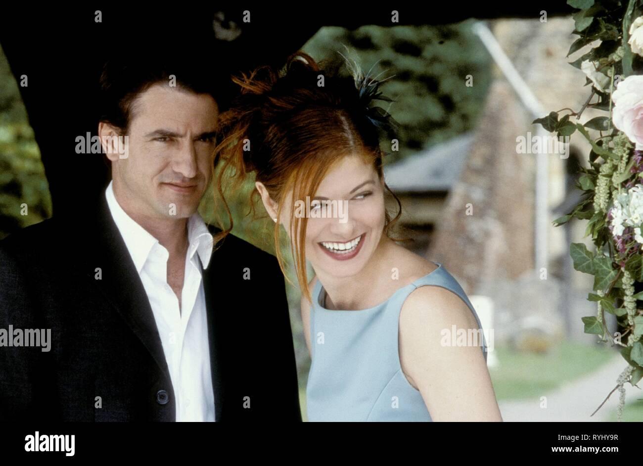 DERMOT MULRONEY, DEBRA MESSING, THE WEDDING DATE, 2005 - Stock Image