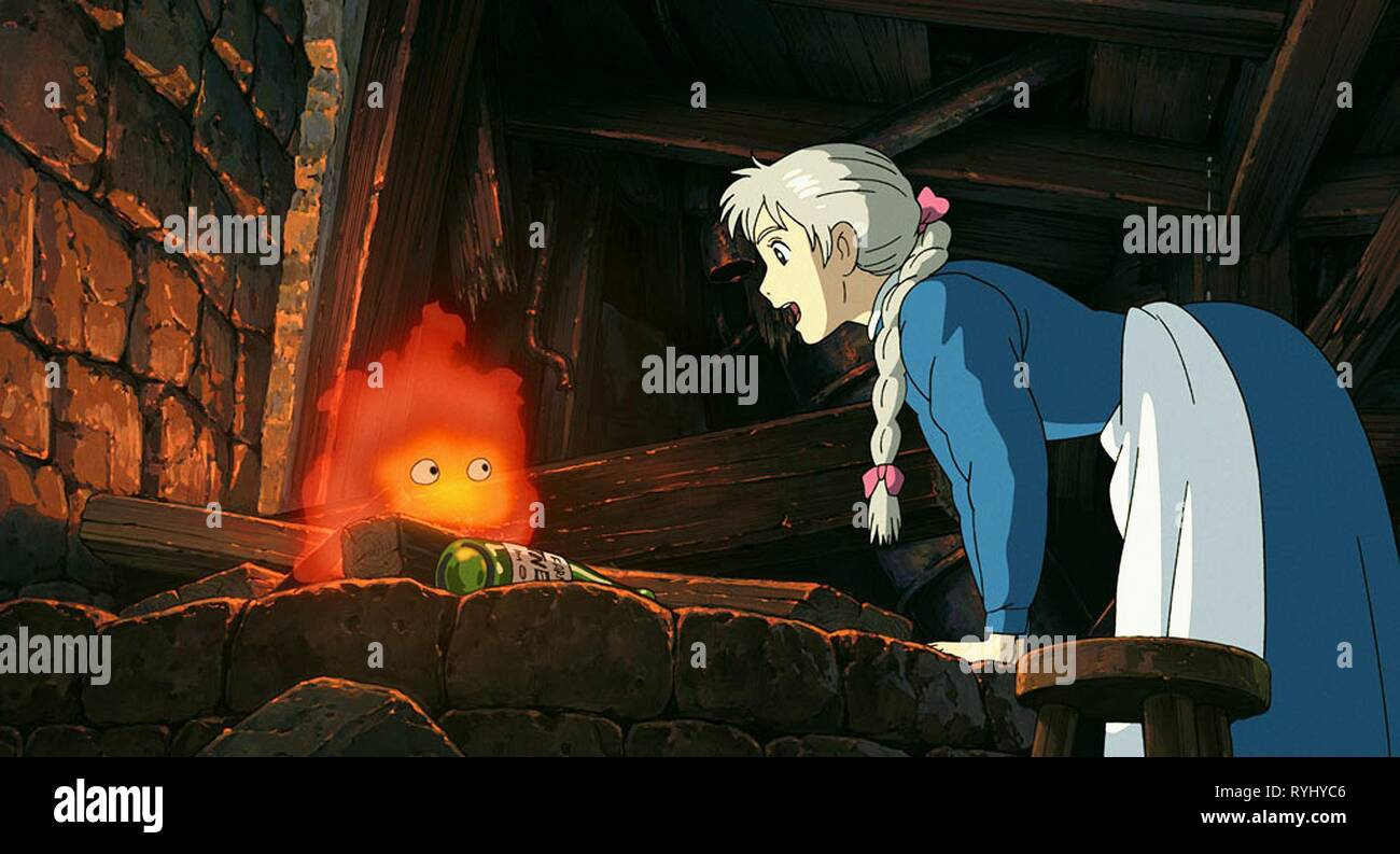 Howl S Moving Castle High Resolution Stock Photography And Images Alamy