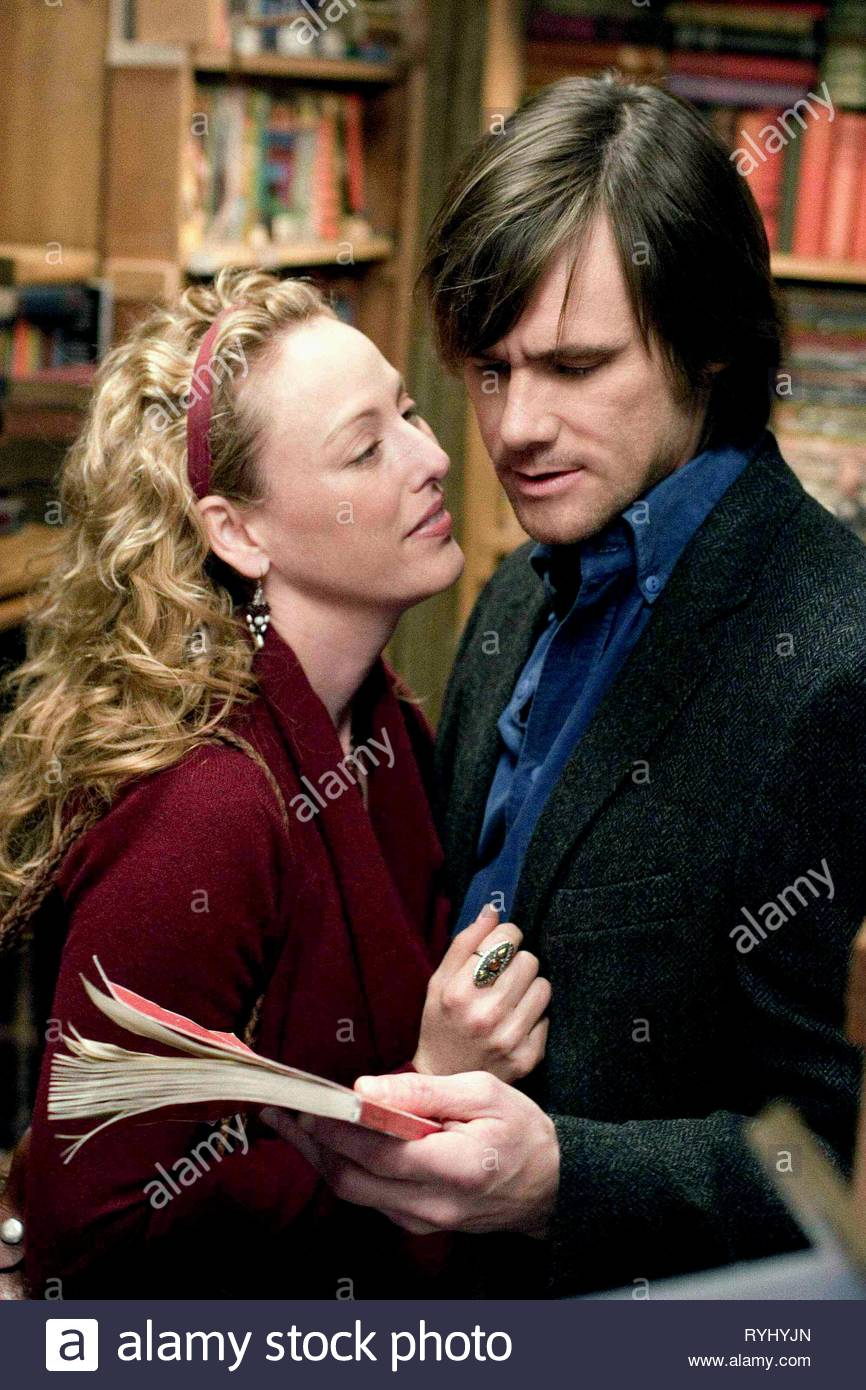 VIRGINIA MADSEN, JIM CARREY, THE NUMBER 23, 2007 - Stock Image