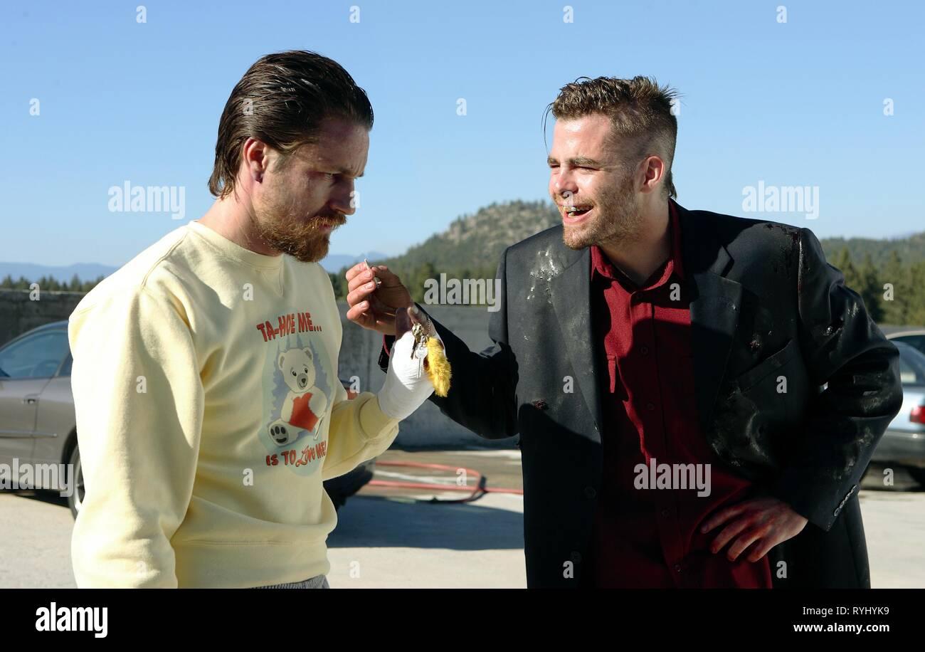 MARTIN HENDERSON, CHRIS PINE, SMOKIN' ACES, 2006 - Stock Image