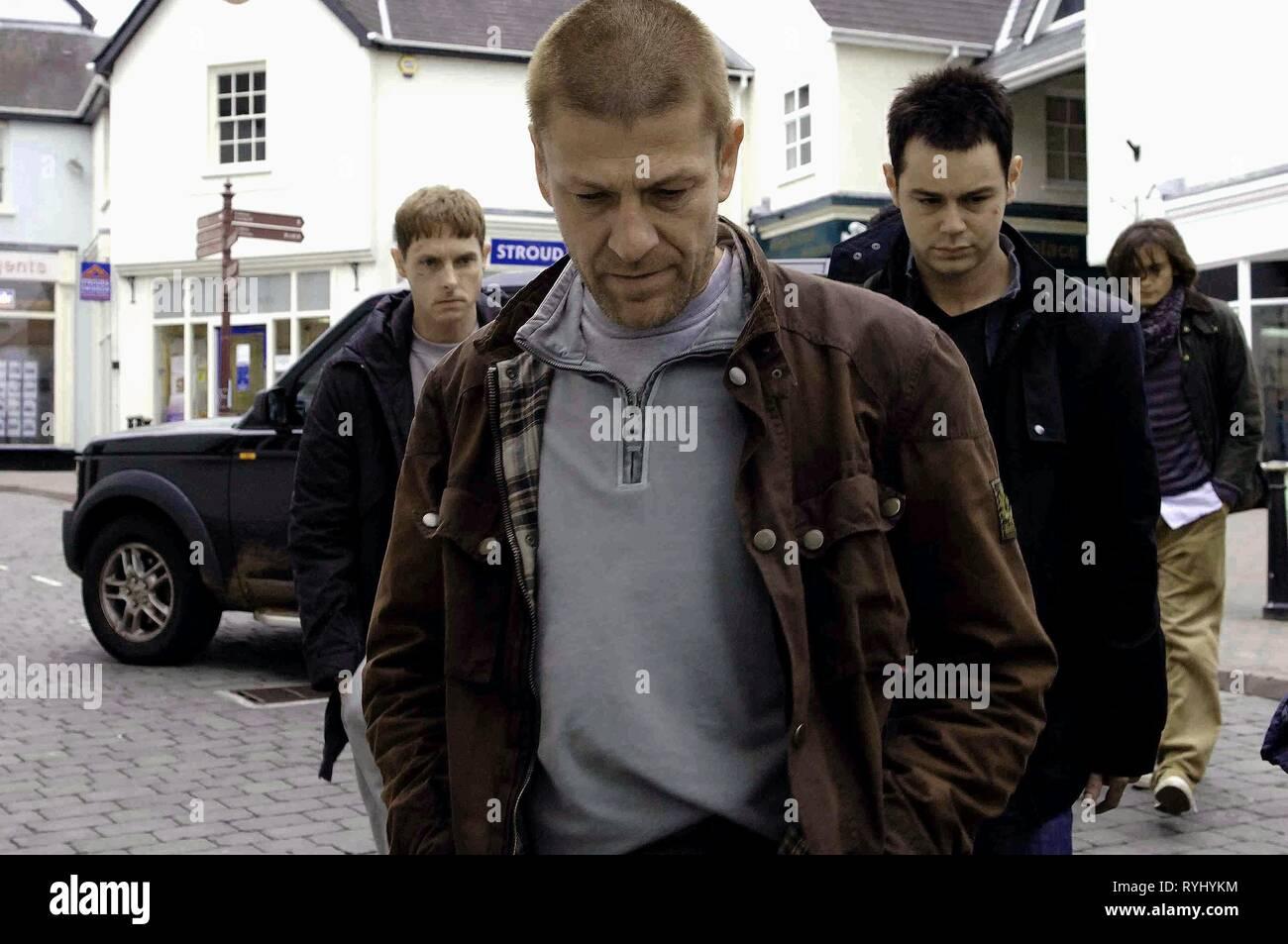 SEAN HARRIS, SEAN BEAN, DANNY DYER, RUPERT FRIEND, OUTLAW, 2007 - Stock Image