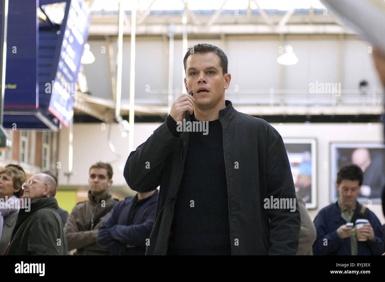 Matt Damon The Bourne Ultimatum 2007 Stock Photo Alamy