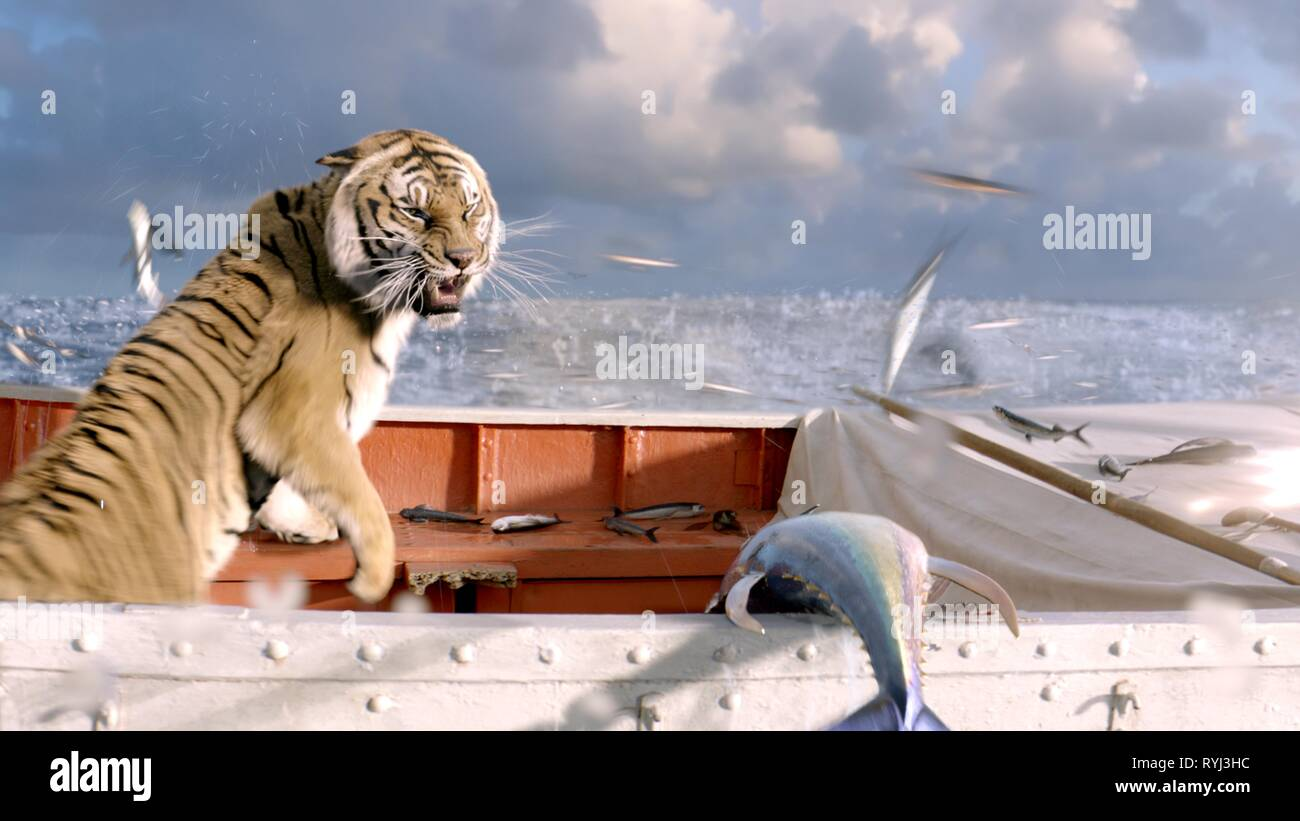 Tiger Life Of Pi 2012 Stock Photo Alamy