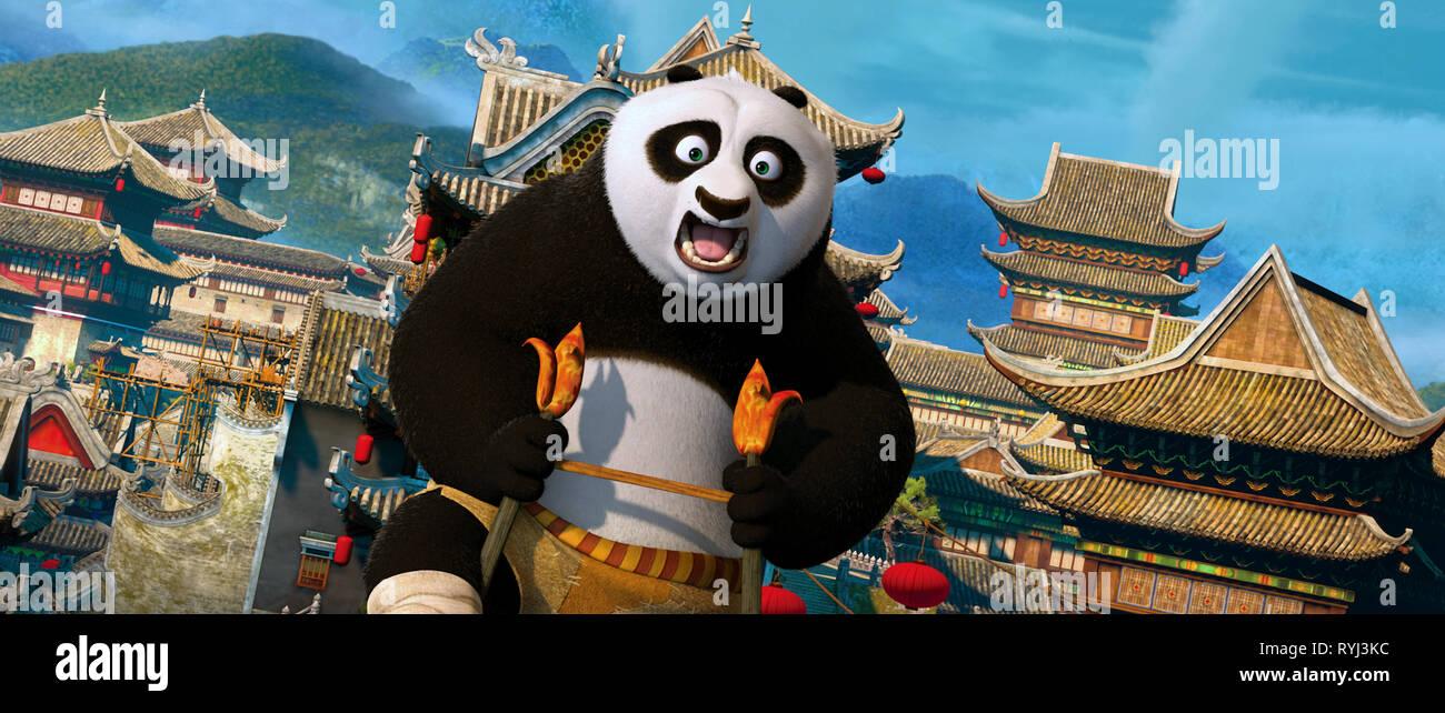 Po The Panda Kung Fu Panda 2 2011 Stock Photo Alamy