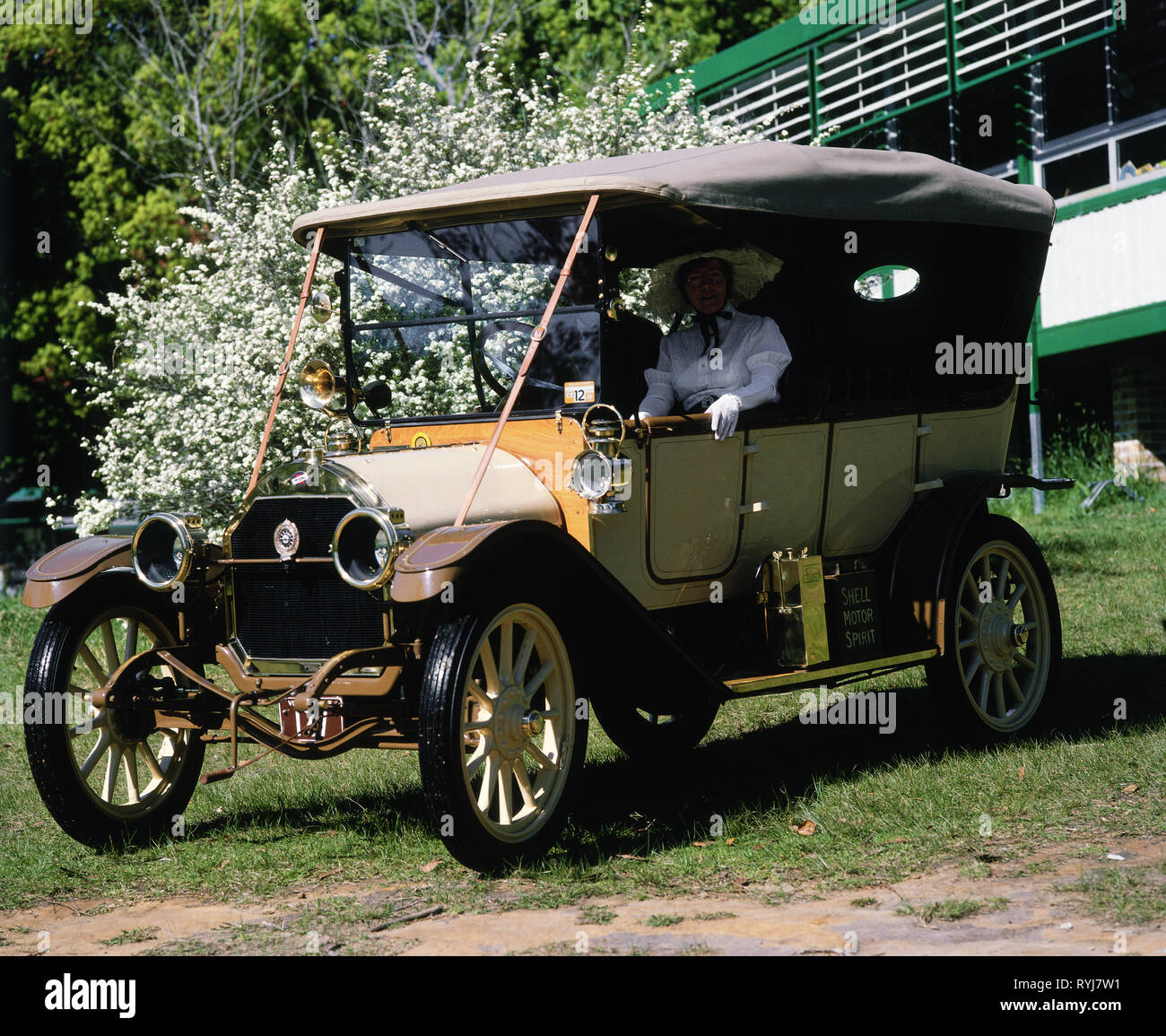 transport / transportation, veteran car, vintage car, circa 1990, Additional-Rights-Clearance-Info-Not-Available - Stock Image