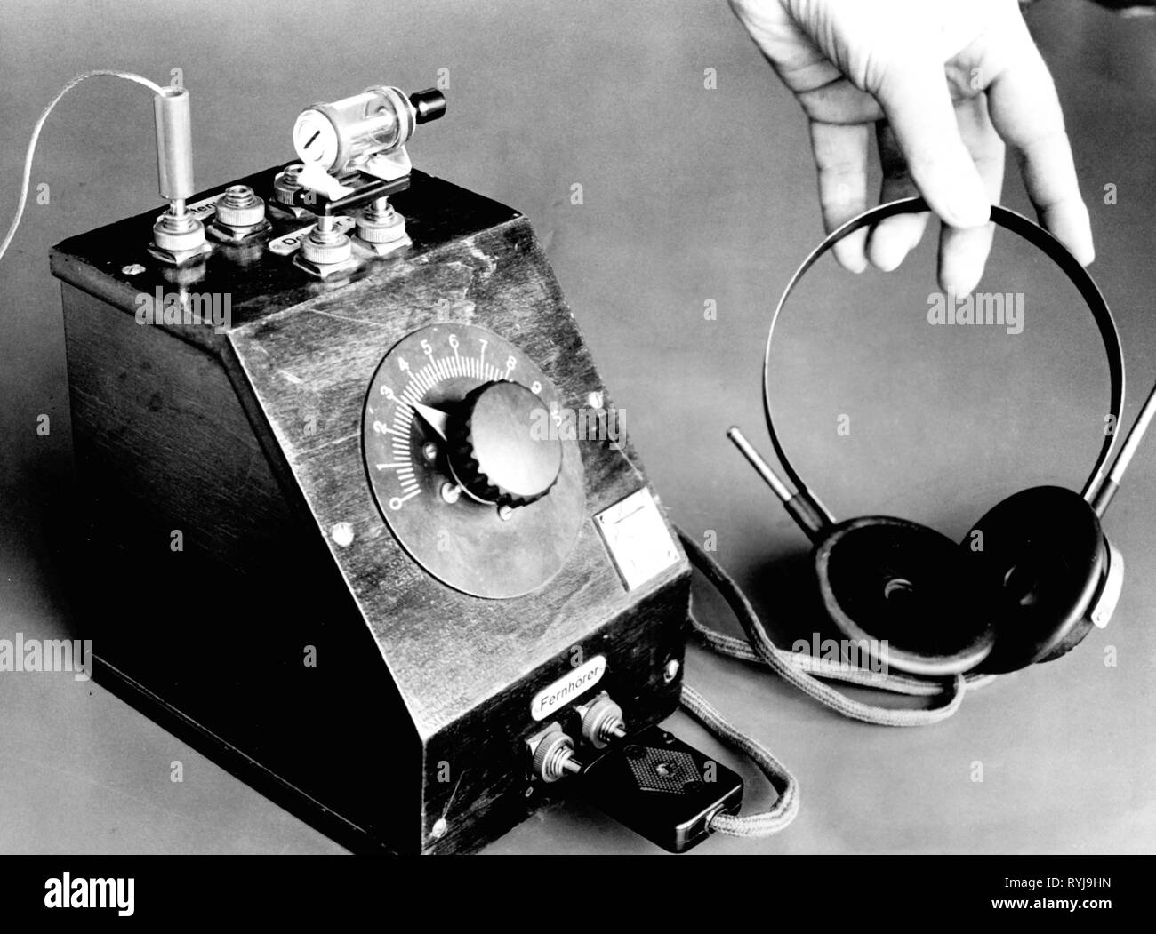 Broadcast Black And White Stock Photos Images Alamy