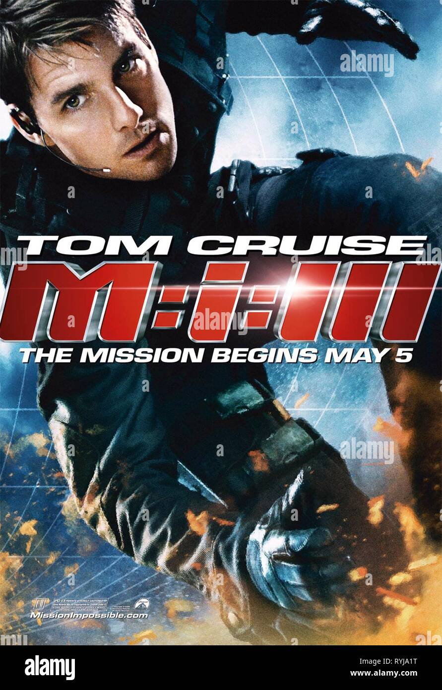 Mission Impossible Poster Stock Photos & Mission Impossible