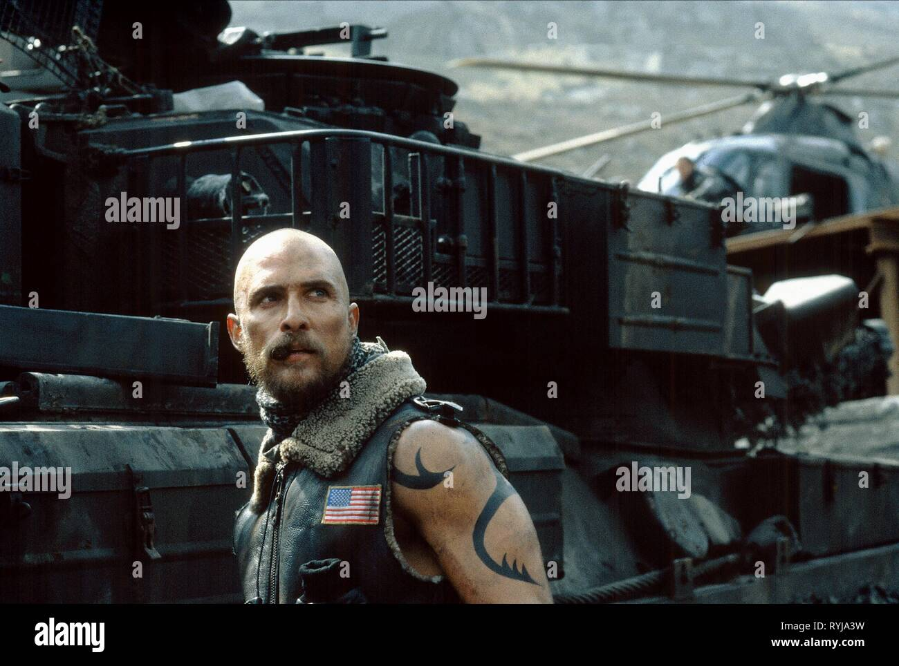 REIGN OF FIRE, MATTHEW MCCONAUGHEY, 2002 - Stock Image