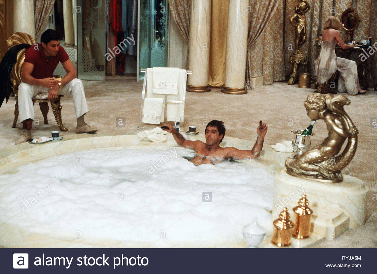 STEVEN BAUER, AL PACINO, SCARFACE, 1983 - Stock Image