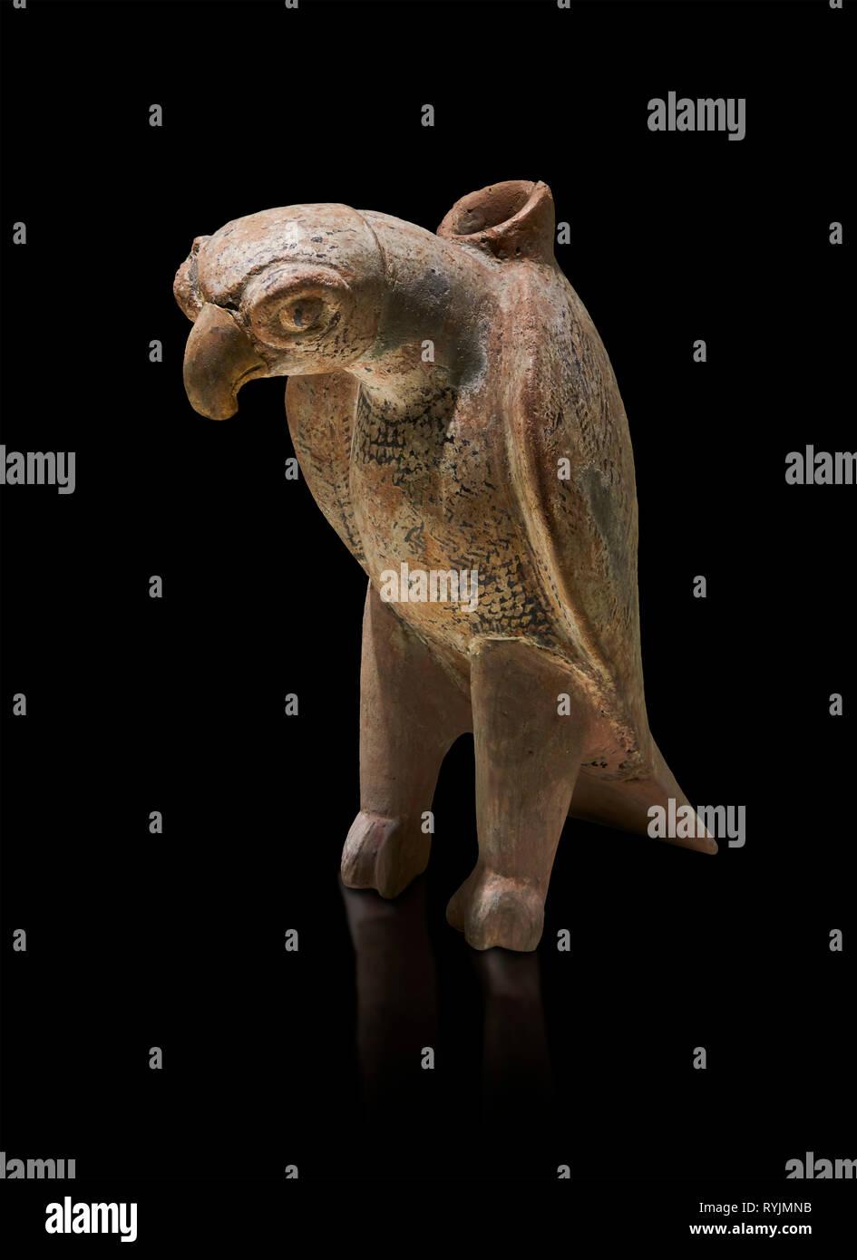 Bronze Age Anatolian terra Cotta eagle shaped ritual vessel - 19th to 17th century BC - Kültepe Kanesh - Museum of Anatolian Civilisations, Ankara, Tu - Stock Image
