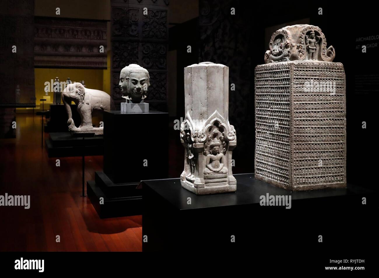Asian Civilisations Museum.  Singapore. - Stock Image