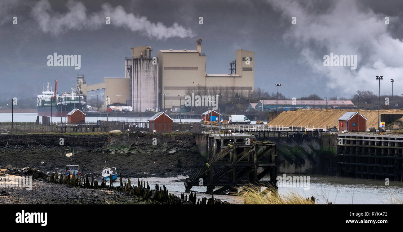 Industrial Regeneration - Stock Image