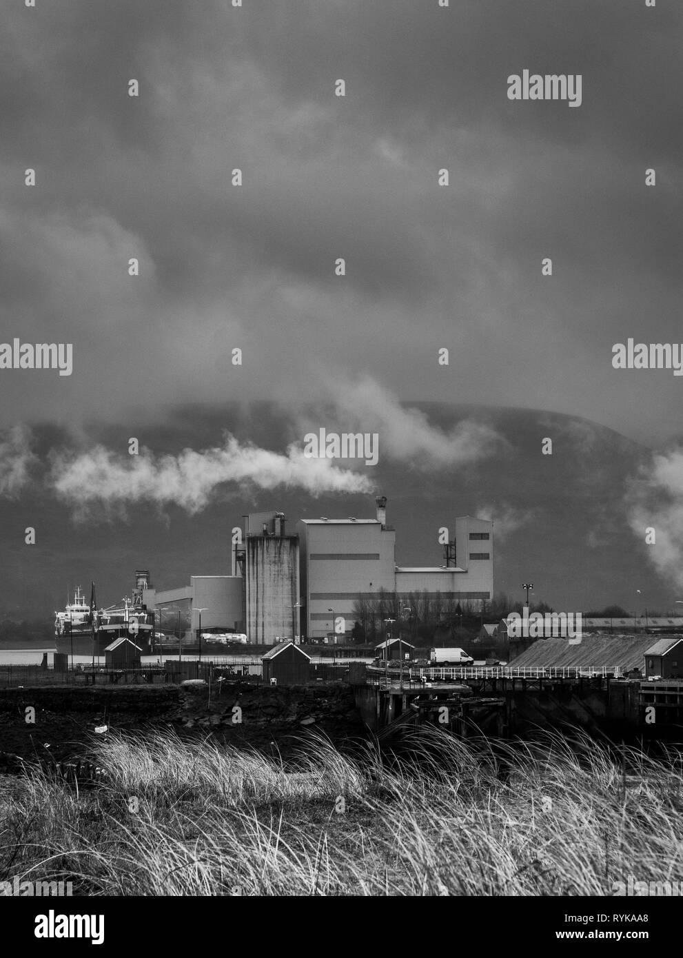 Regeneration of Industry - Stock Image