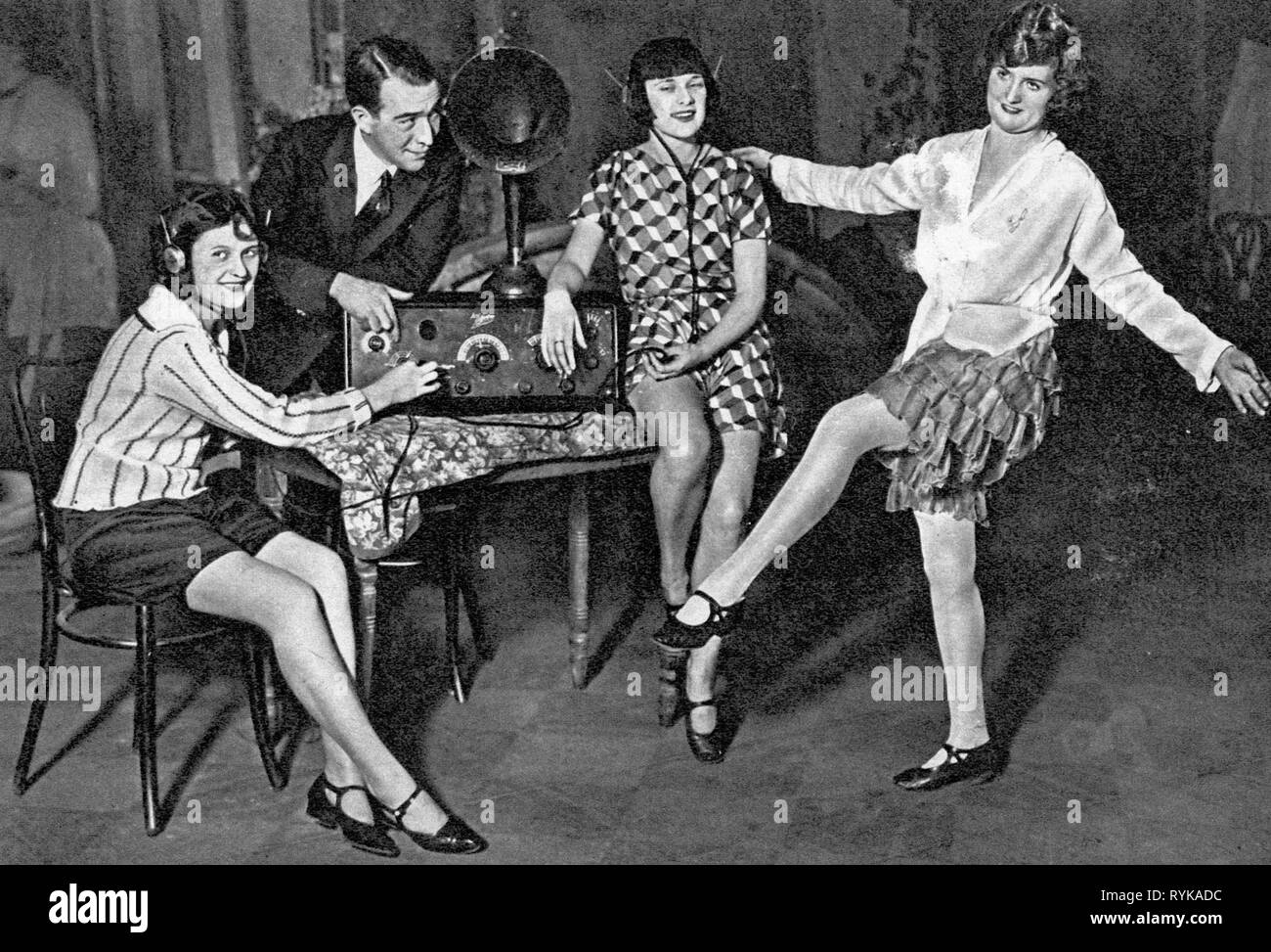 Radio Music 1920s Stock Photos Radio Music 1920s Stock Images