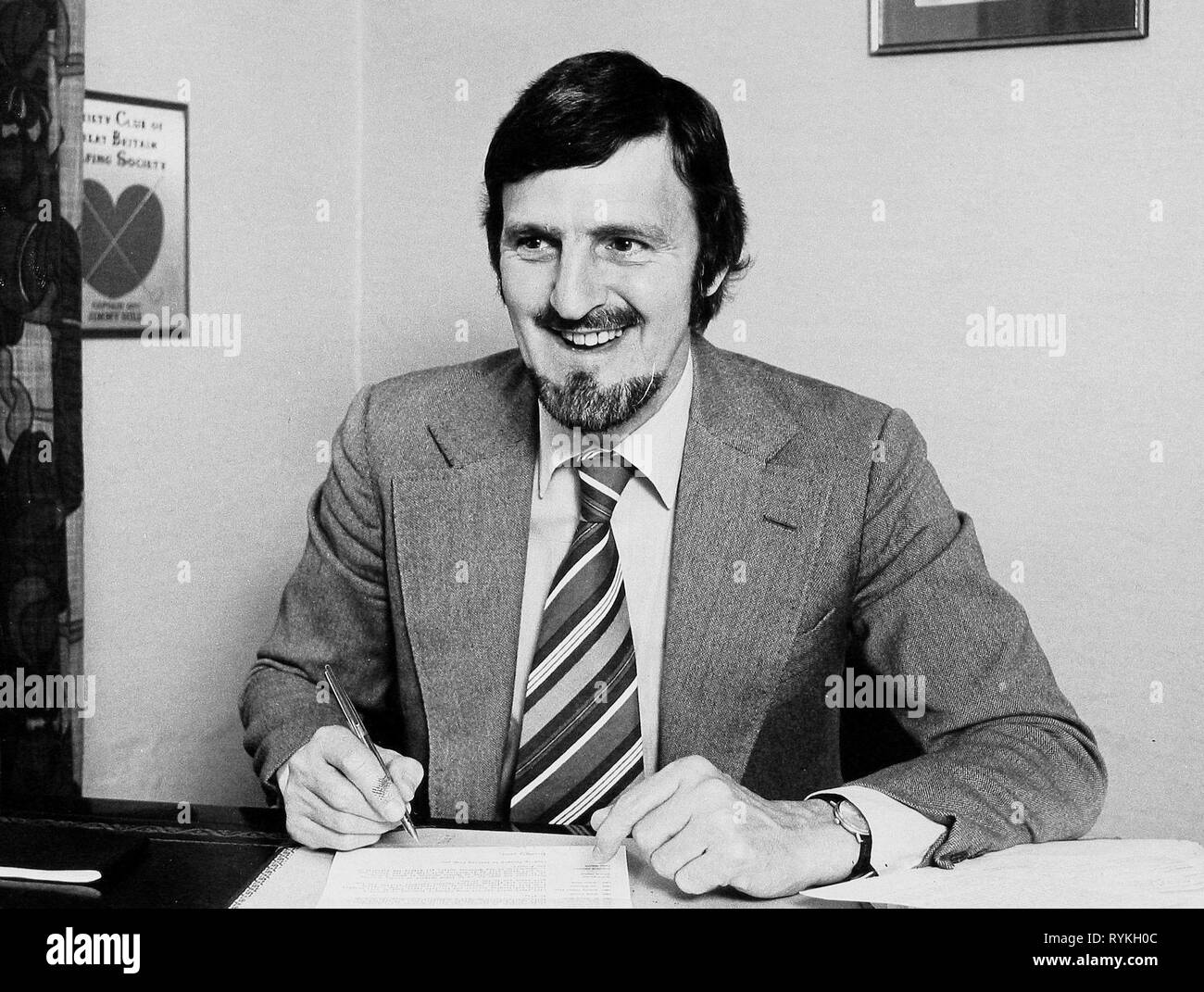 JIMMY HILL, MATCH OF THE DAY, 1973 Stock Photo