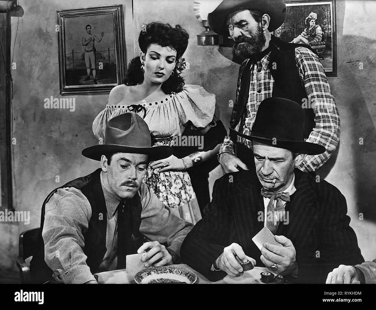 FONDA,DARNELL, MY DARLING CLEMENTINE, 1946 - Stock Image