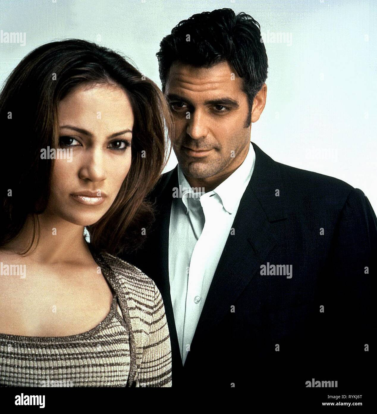 LOPEZ,CLOONEY, OUT OF SIGHT, 1998 Stock Photo