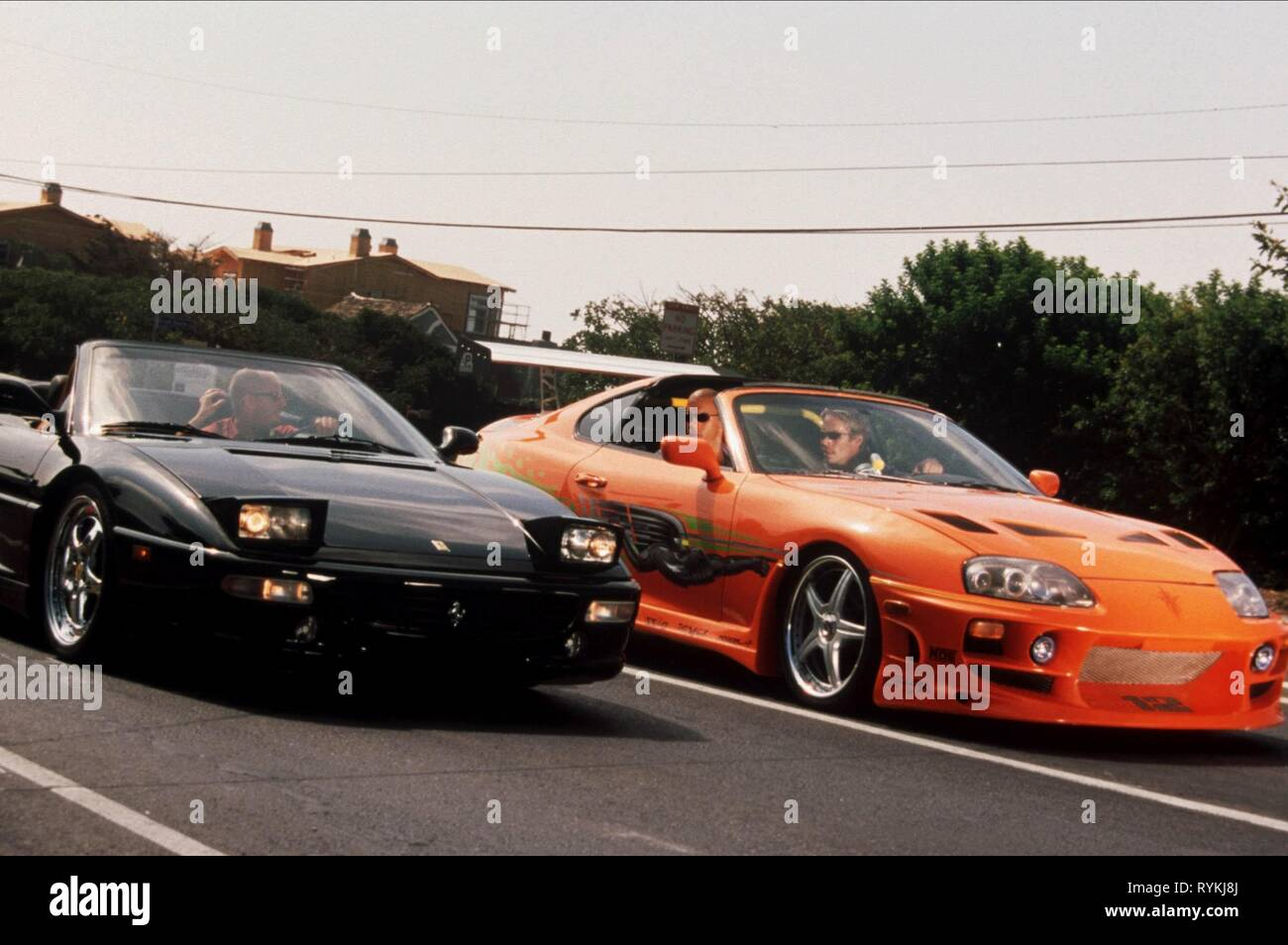 DIESEL,WALKER, THE FAST AND THE FURIOUS, 2001 - Stock Image