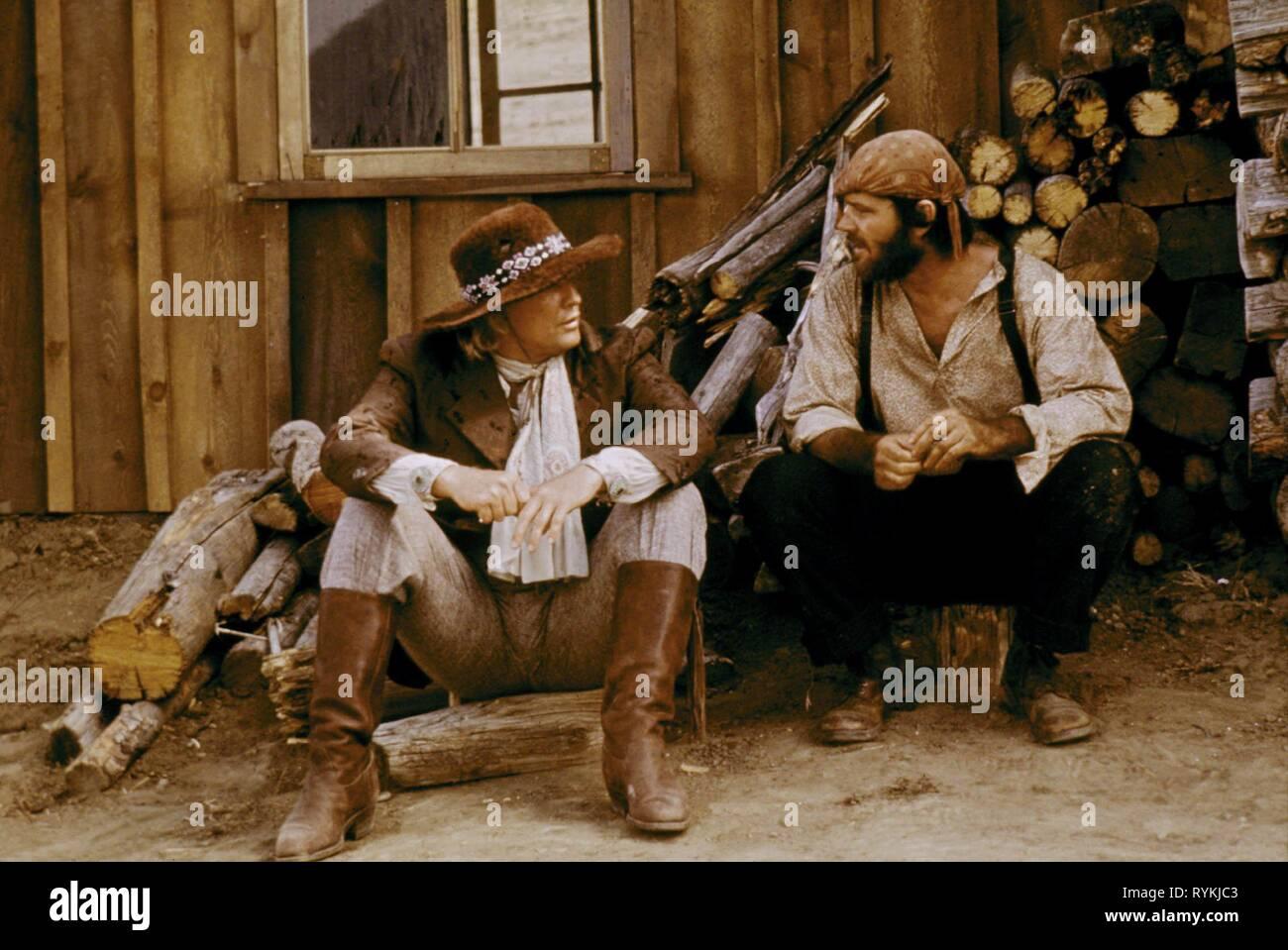 BRANDO,NICHOLSON, THE MISSOURI BREAKS, 1976 - Stock Image