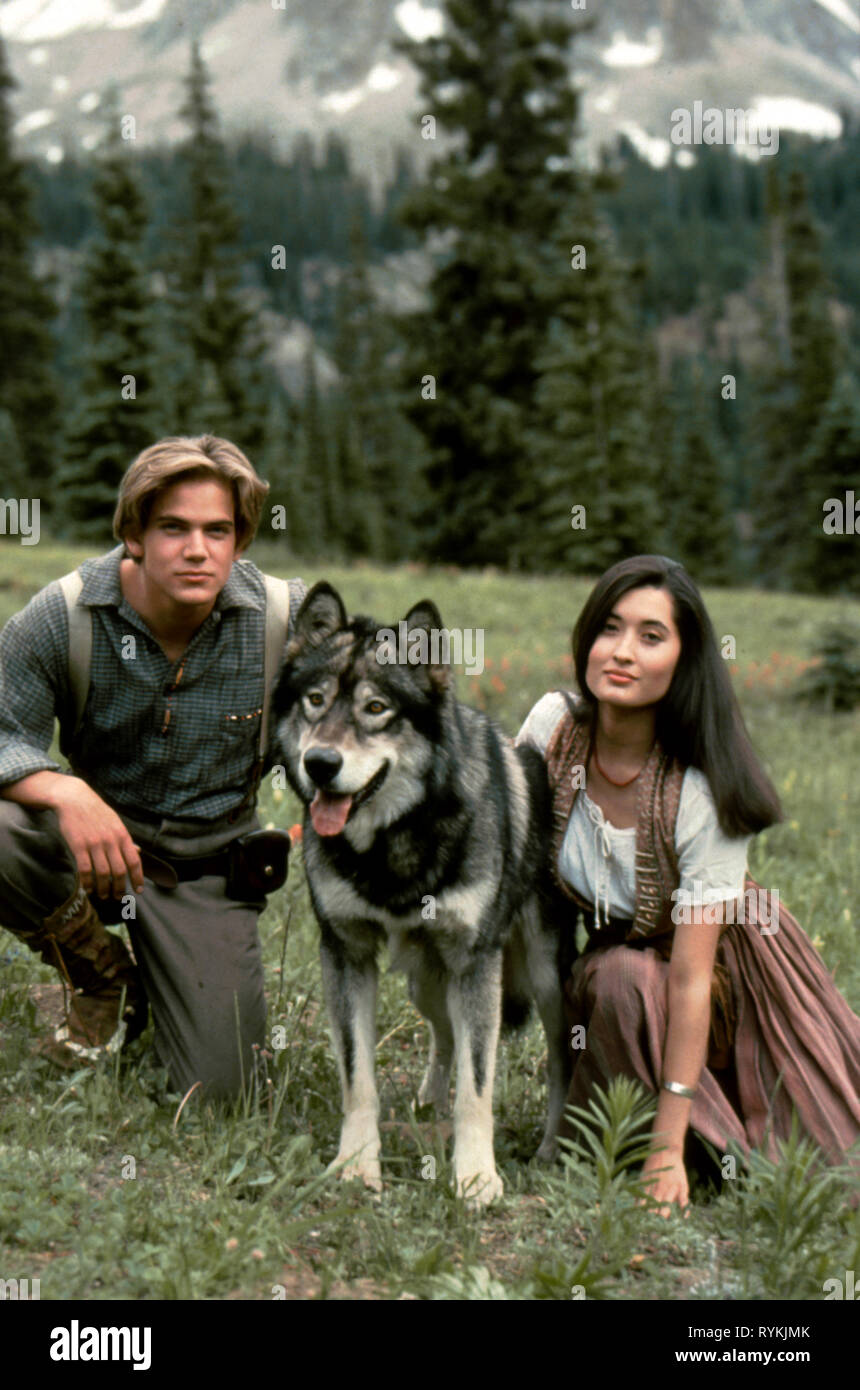 BAIRSTOW,CRAIG, WHITE FANG 2: MYTH OF THE WHITE WOLF, 1994 - Stock Image