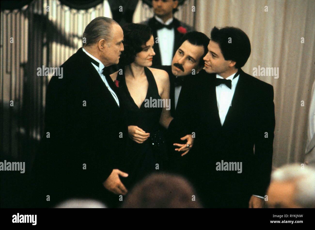 BRANDO,MILLER,KIRBY,BRODERICK, THE FRESHMAN, 1990 - Stock Image