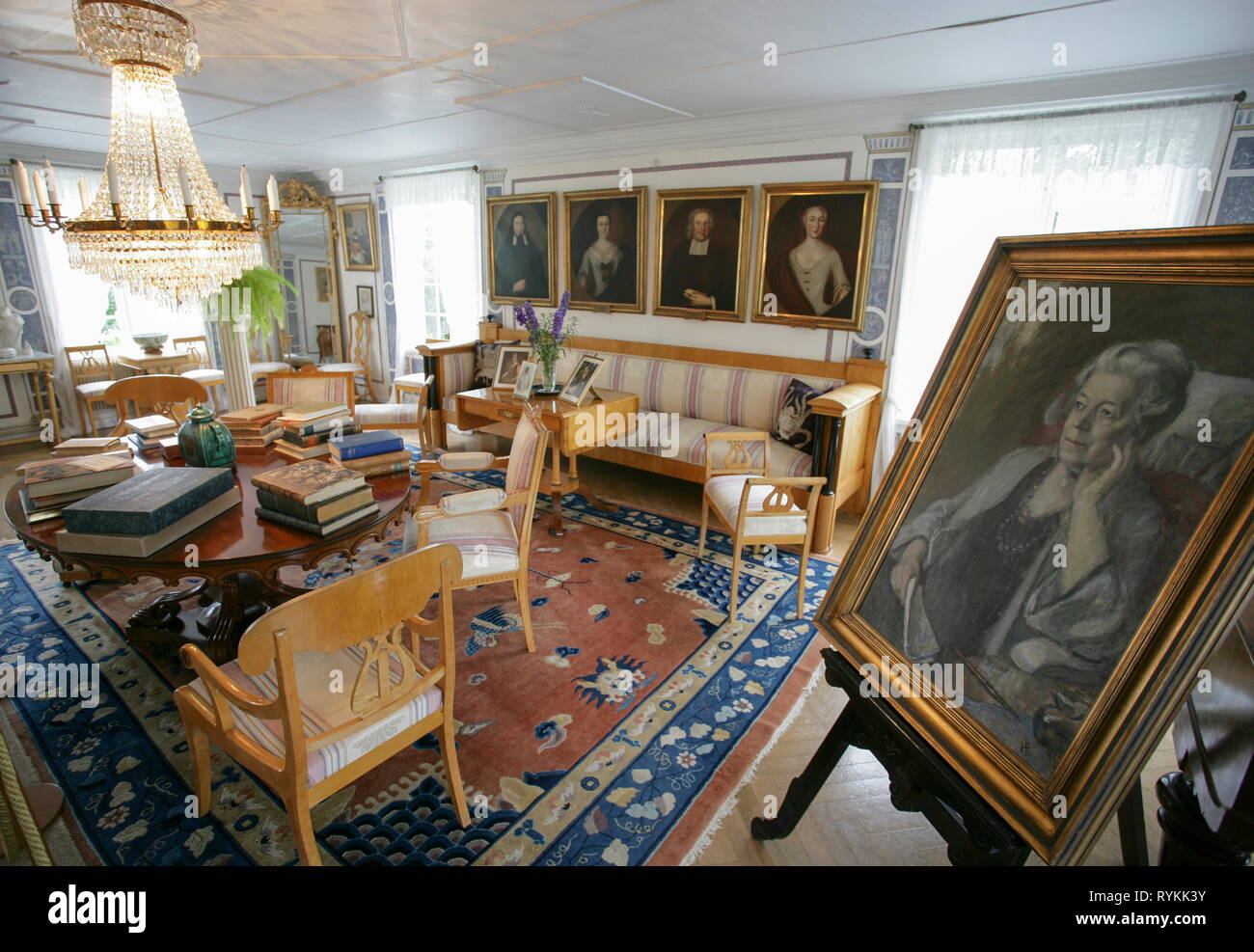 La Maison De La Suede maison de selma lagerlof a marbacka suede stock photo
