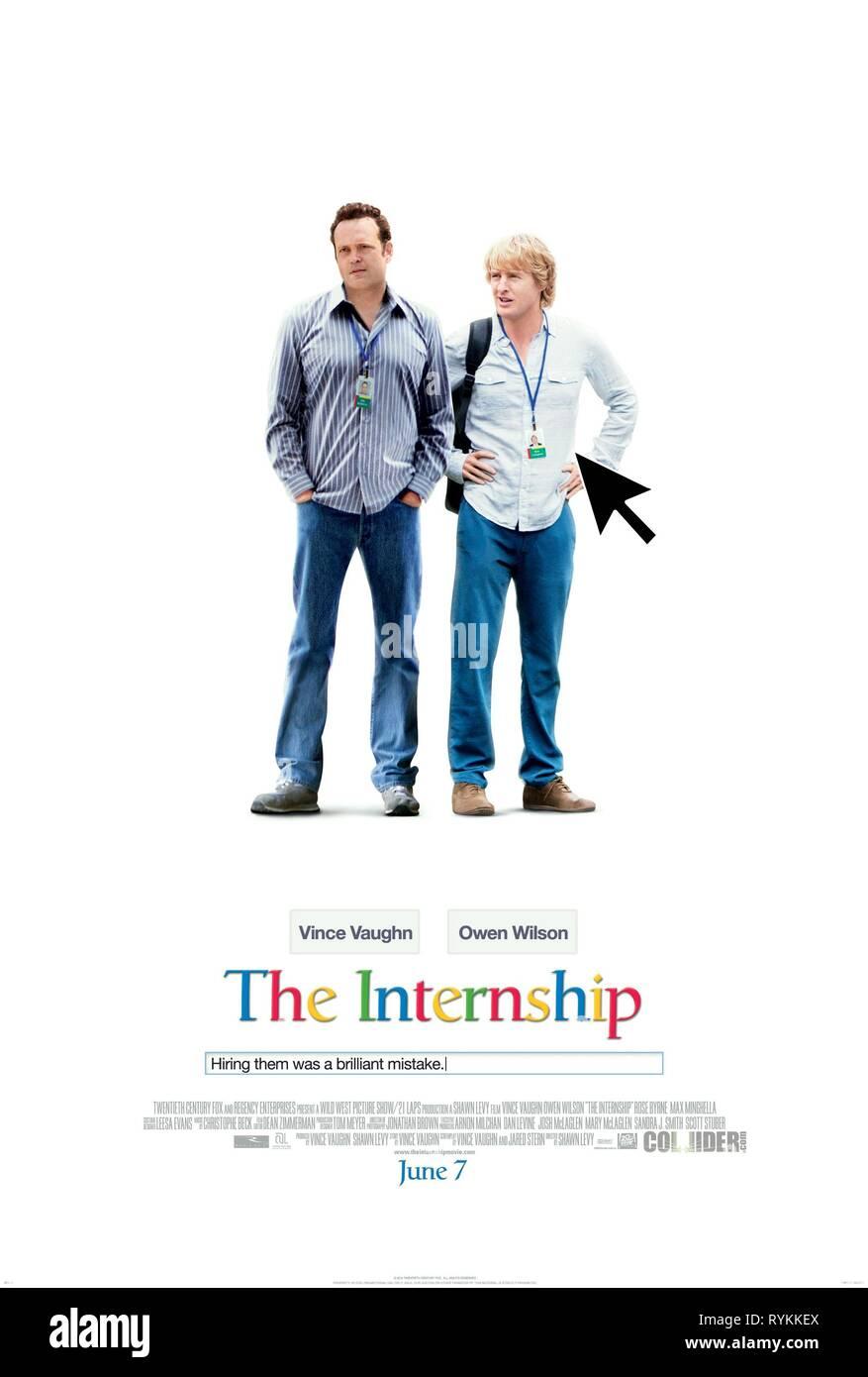 VAUGHN,WILSON, THE INTERNSHIP, 2013 - Stock Image