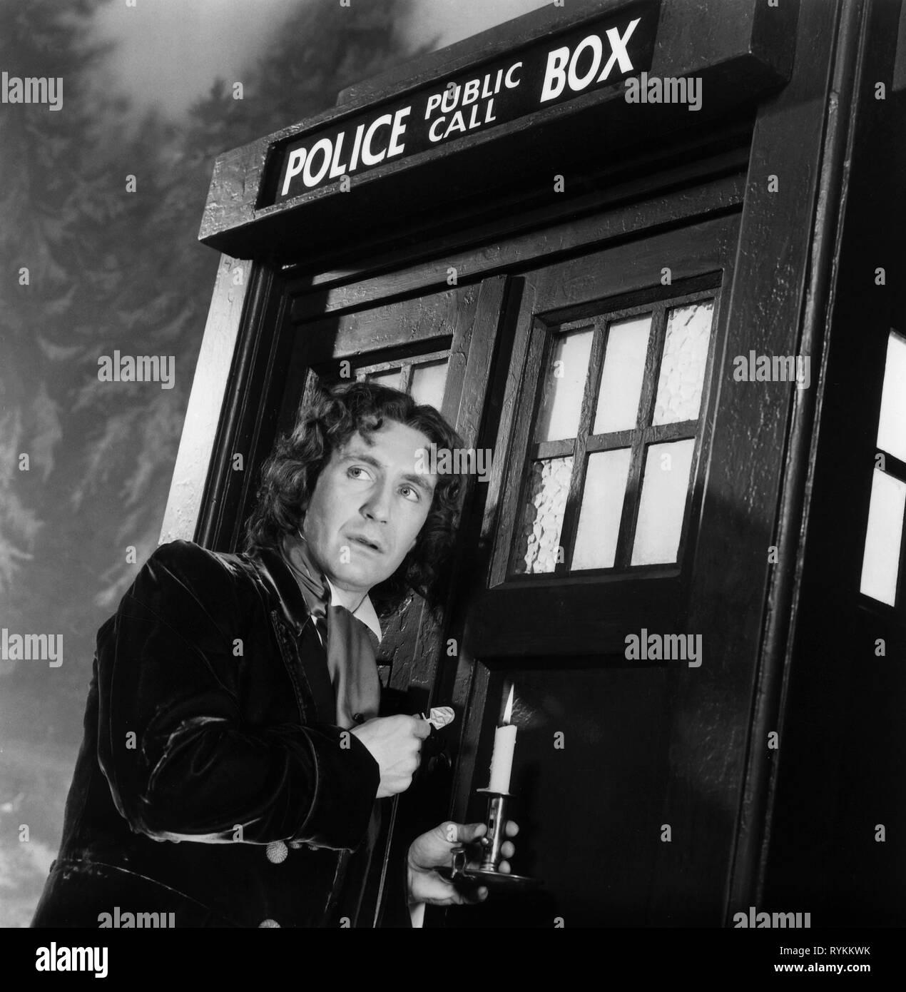 PAUL MCGANN, DOCTOR WHO, 1996 - Stock Image