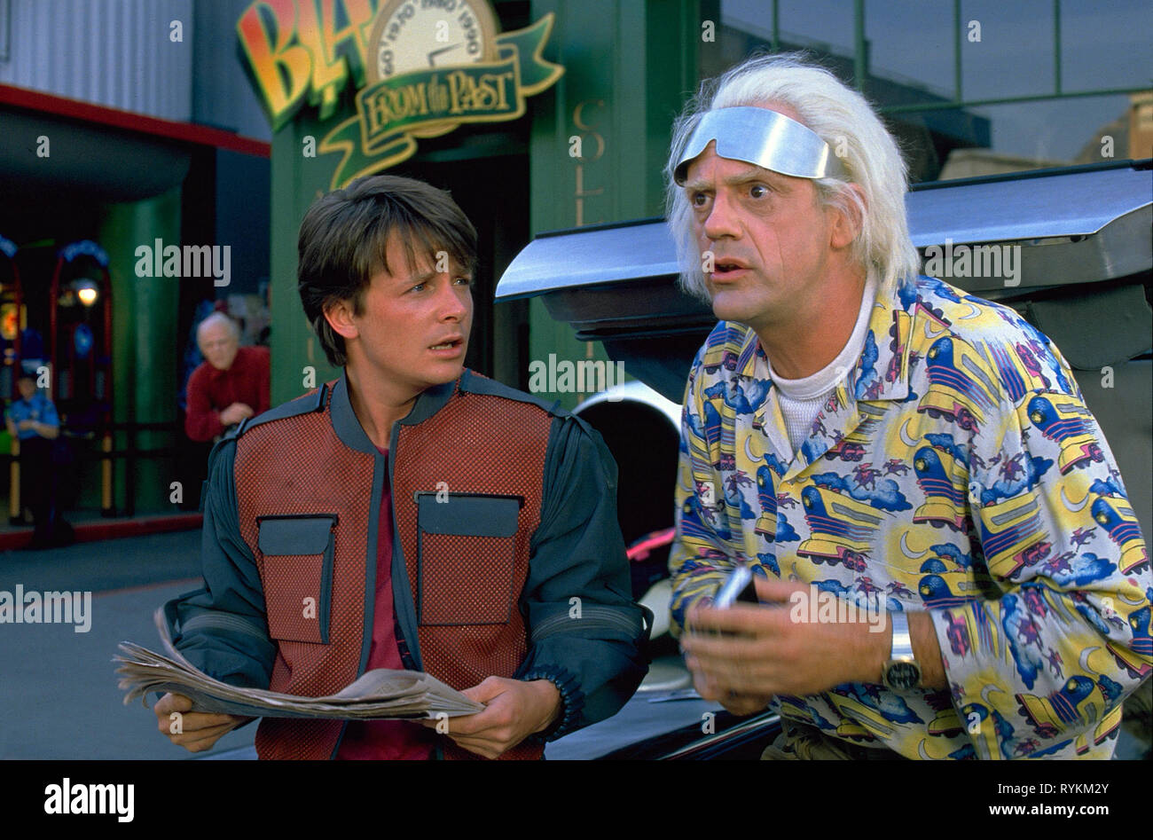Back To The Future Part Ii High Resolution Stock Photography And Images Alamy