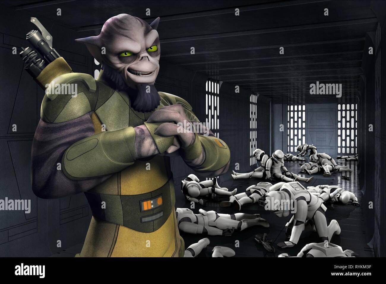 ZEB, STAR WARS REBELS, 2014 - Stock Image