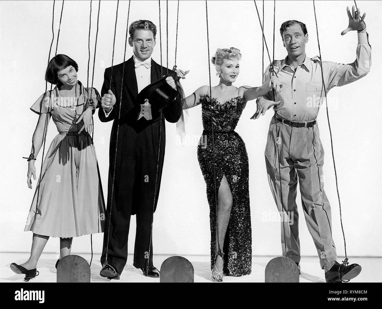 CARON,AUMONT,GABOR,FERRER, LILI, 1953 - Stock Image