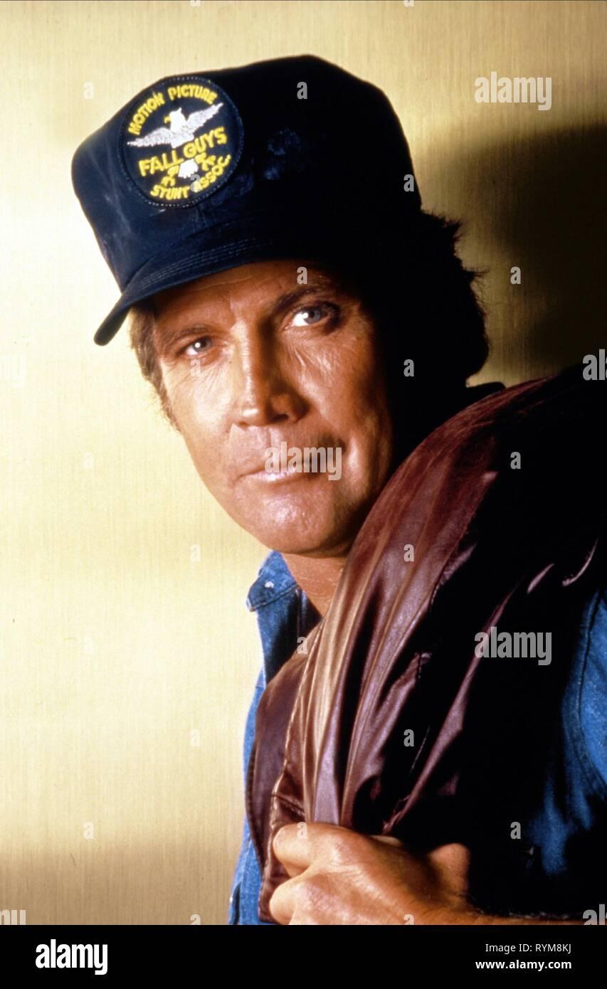 LEE MAJORS, THE FALL GUY, 1981 - Stock Image