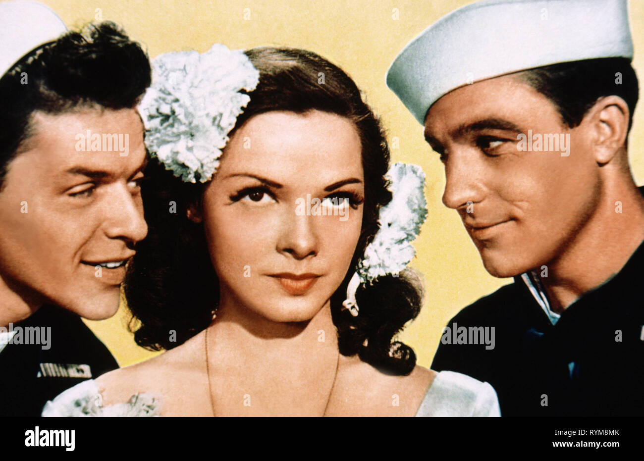 SINATRA,GRAYSON,KELLY, ANCHORS AWEIGH, 1945 - Stock Image