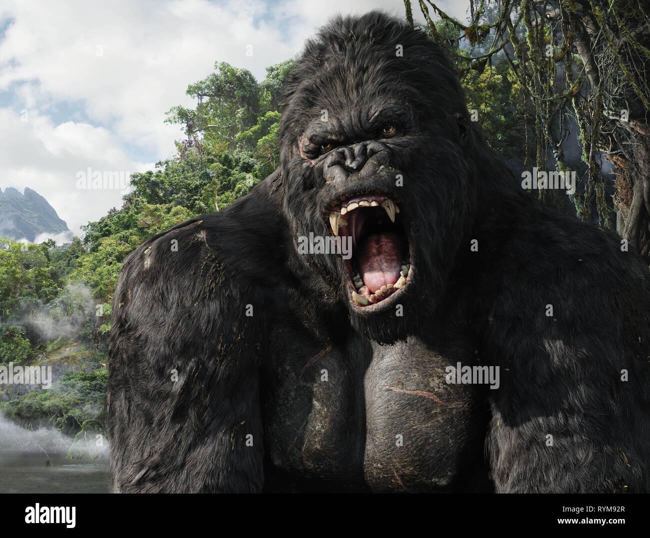 King Kong King Kong 2005 Stock Photo Alamy