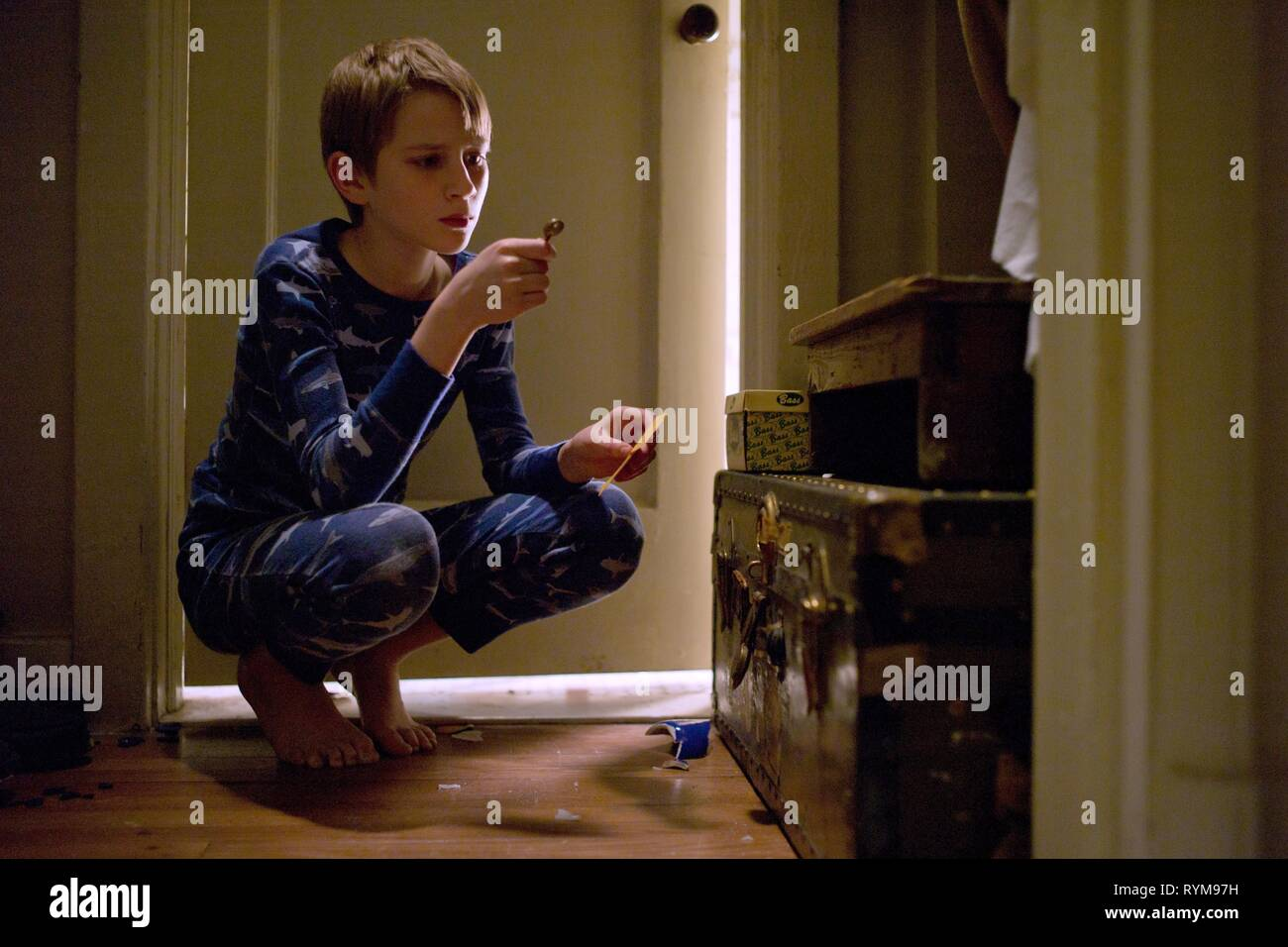 THOMAS HORN, EXTREMELY LOUD AND INCREDIBLY CLOSE, 2011 - Stock Image