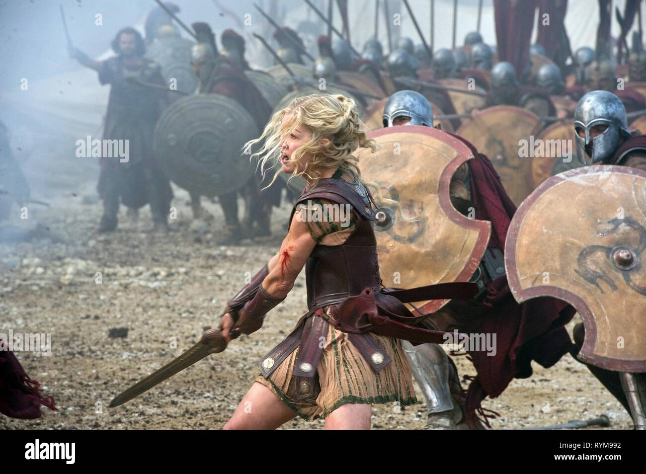 ROSAMUND PIKE, WRATH OF THE TITANS, 2012 - Stock Image
