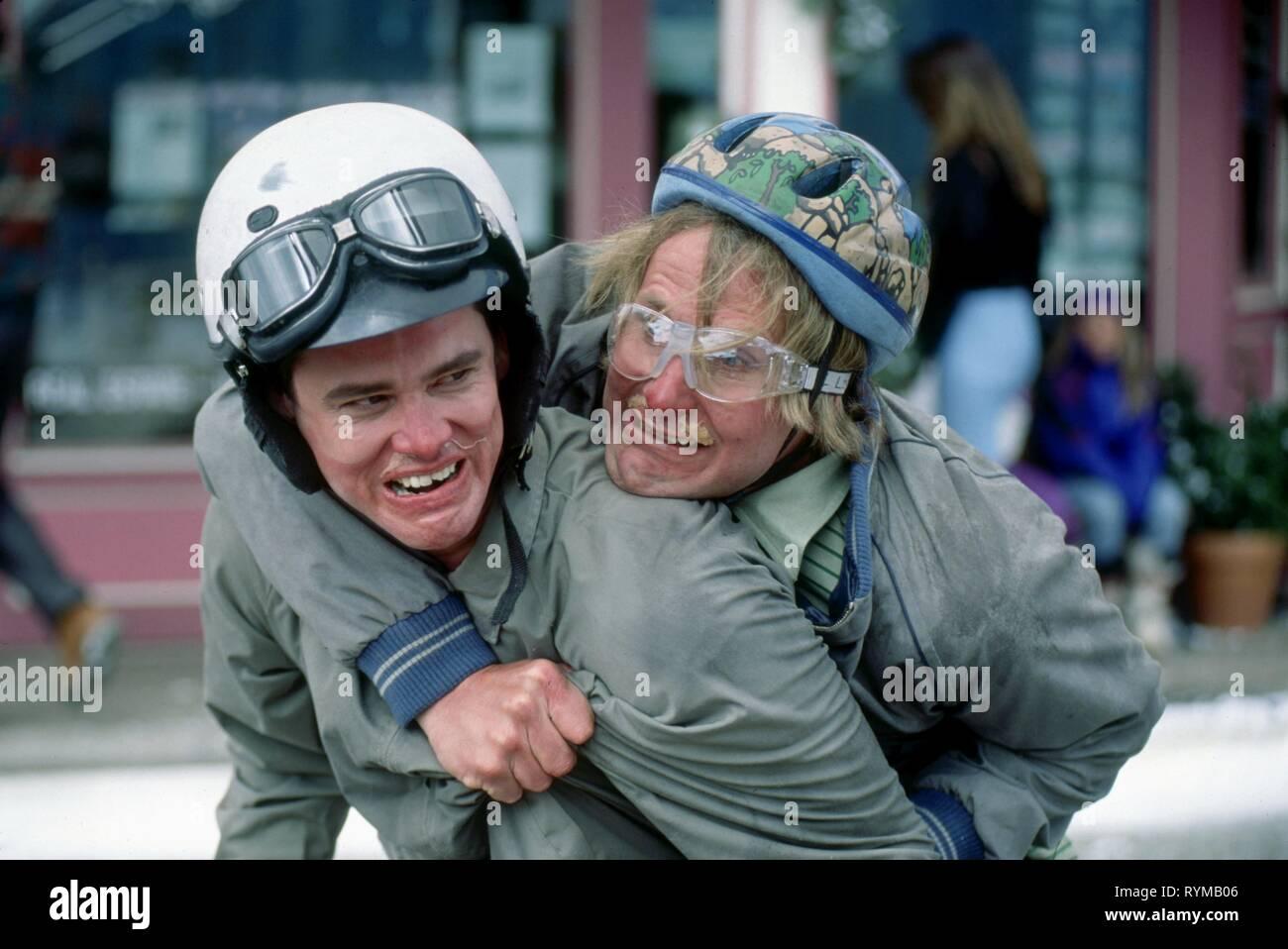 Carrey Daniels Dumb And Dumber 1994 Stock Photo Alamy