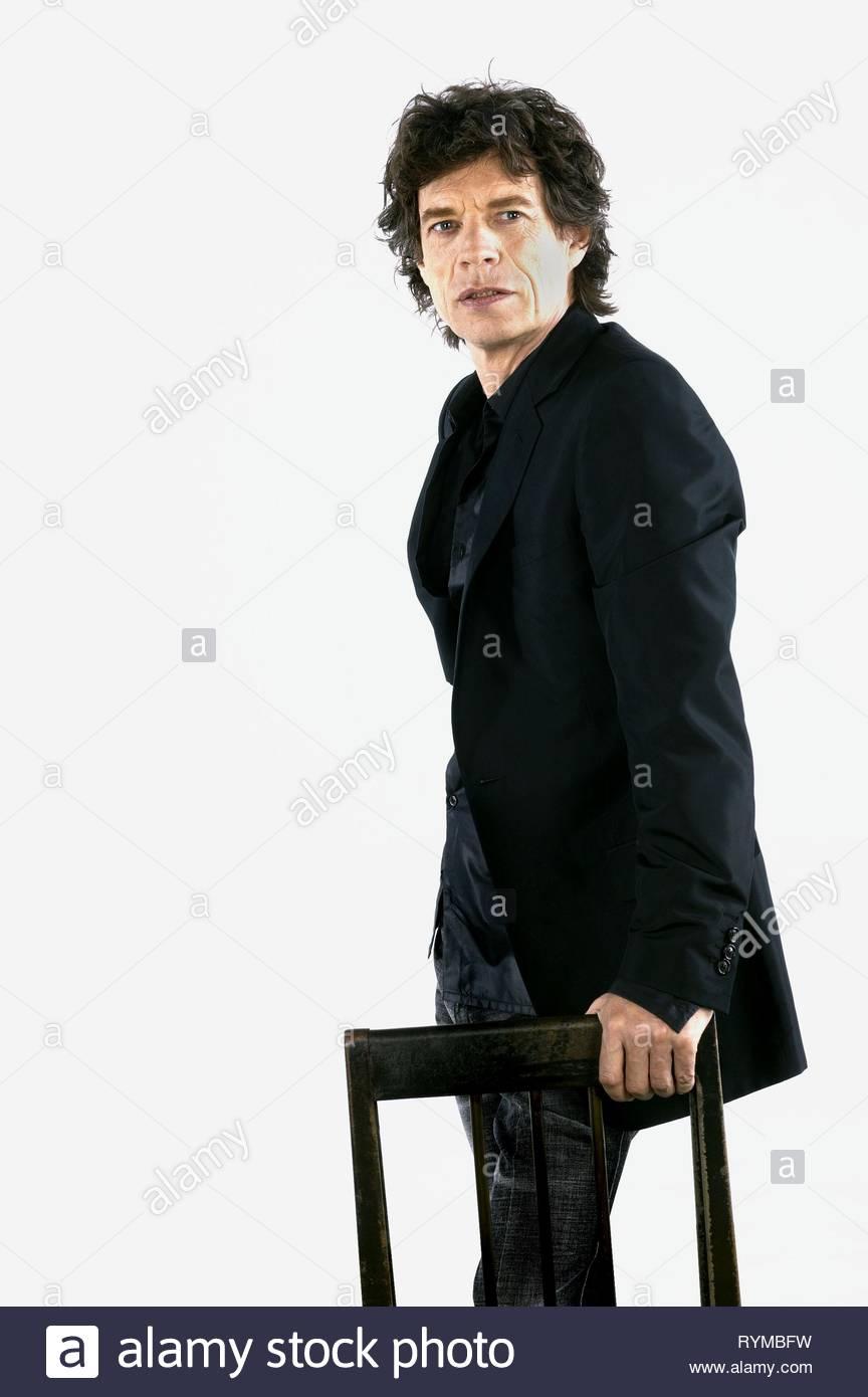 MICK JAGGER, BEING MICK, 2001 - Stock Image
