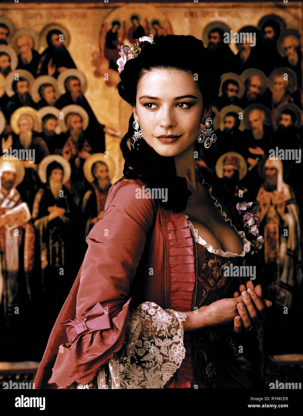 CATHERINE ZETA-JONES, CATHERINE THE GREAT, 1995 - Stock Image