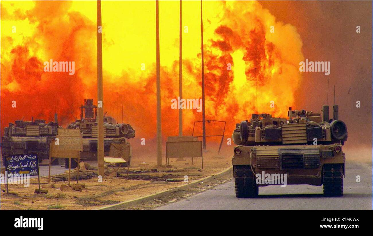 IRAQ WAR SCENE, NO END IN SIGHT, 2007 - Stock Image