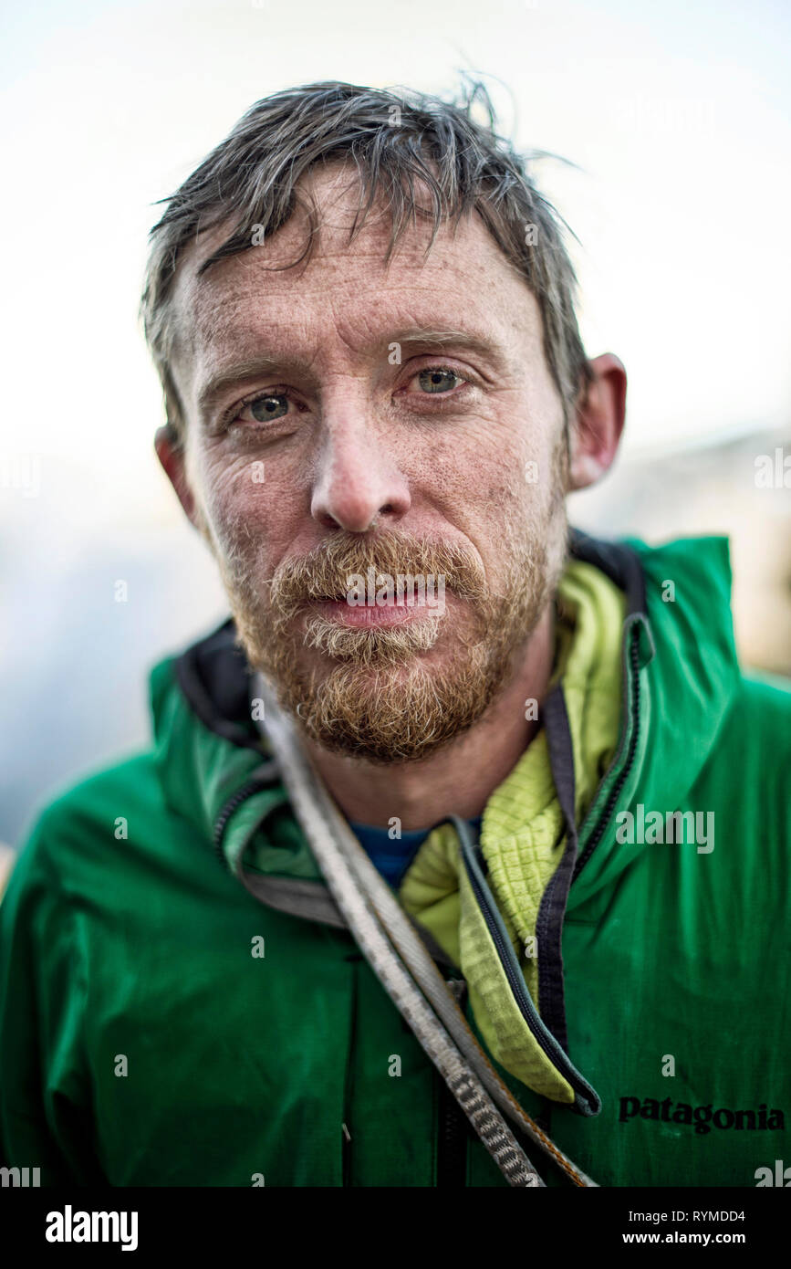 THE DAWN WALL 2017 de Josh Lowell et Peter Mortimer Tommy Caldwell. escalade; climbing Prod DB © Bligh Gillies - Red Bull Media House - Sender Films / - Stock Image