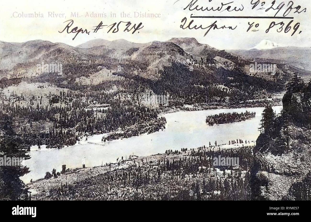 Columbia River Gorge, Mount Adams (Washington), Rocks in