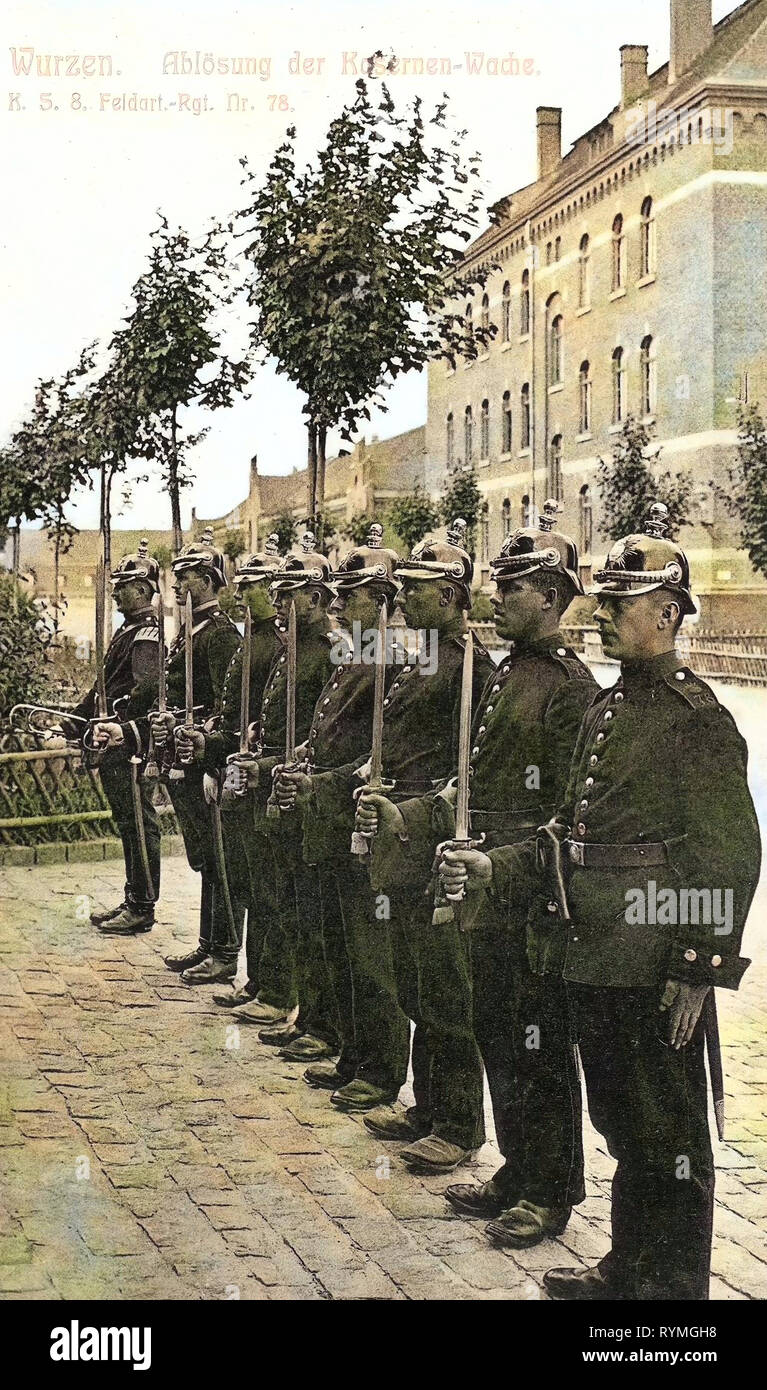 Changing of the Guard, Military facilities of Germany, 8  Königlich