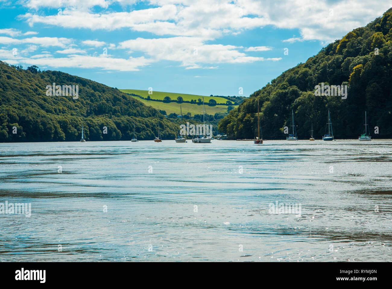 Dartmouth Regatta Devon - Stock Image