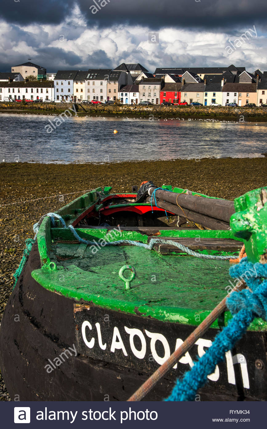 The Claddagh in Galway City, Ireland - Stock Image