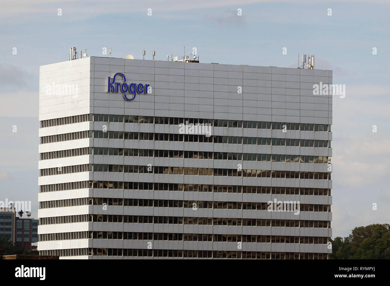 Kroger Marietta Ohio >> Kroger Corporation Cincinnati Oh Stock Photo 240787558 Alamy