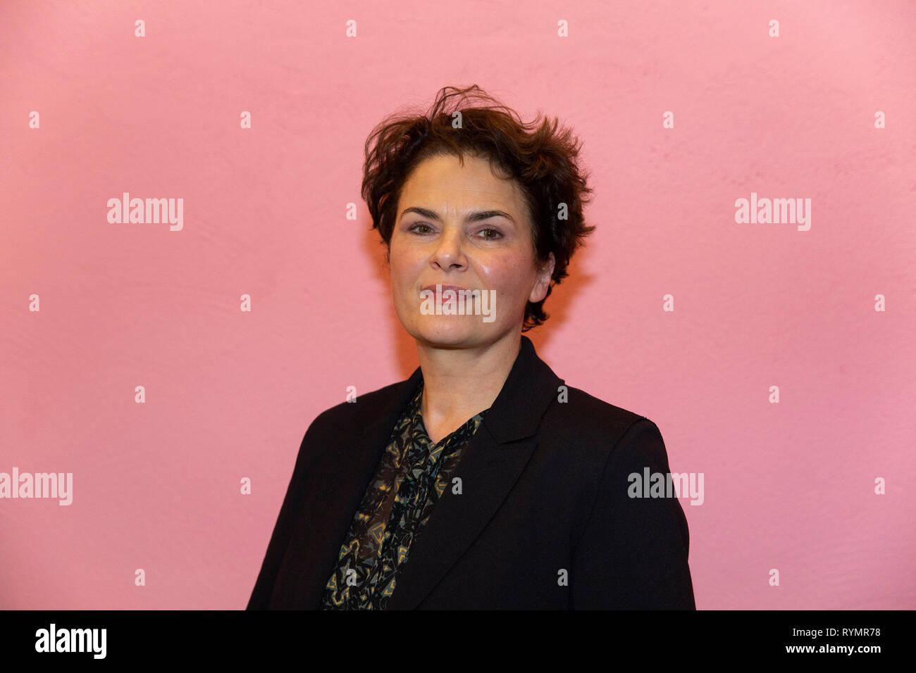 Barbara Auer bei der Premiere Film Vakuum, Schauspiel Köln, Köln, 13.03.2019 - Stock Image